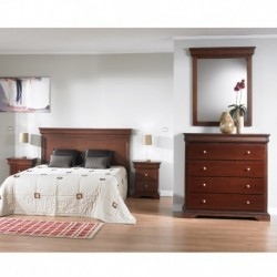 "CONJUNTO DORMITORIO ""LOUIS PHILLIPE"""